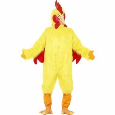 Carnaval  Pluche kip verkleed kostuum
