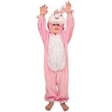 Carnaval  Pluche konijnen kostuum kinderen