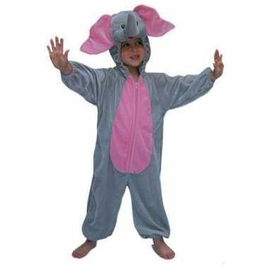 Carnaval  Pluche olifanten kinder kostuum
