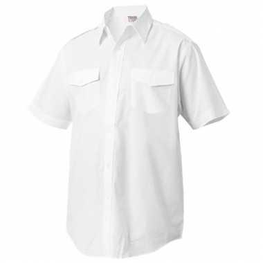Carnaval  Politie overhemd korte mouwen kostuum