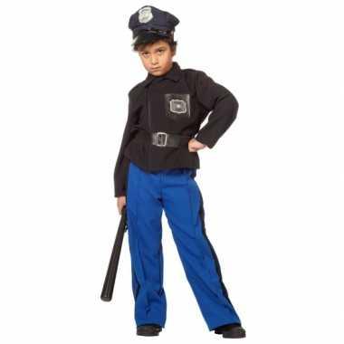 Carnaval  Politie uniform kind kostuum