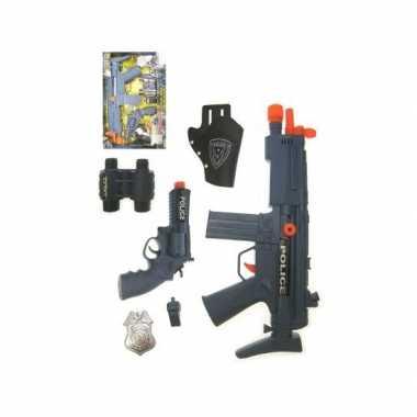 Politie verkleed wapens set
