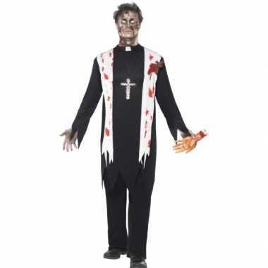 Carnaval  Priester kostuum bebloed