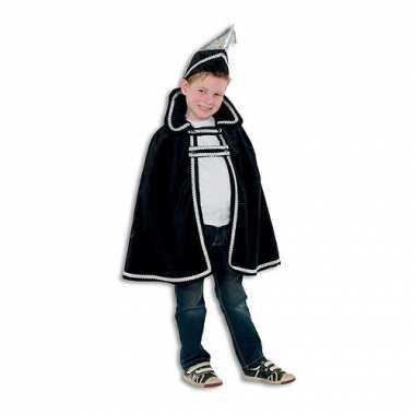 Prins carnaval kinder kostuum zwart