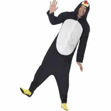 Carnaval  Pyamakostuum pinguin dames heren