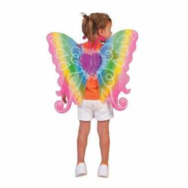 Regenboog vleugels kinderen