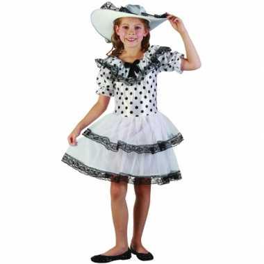 Carnaval  Rock and roll jurkje meiden kostuum