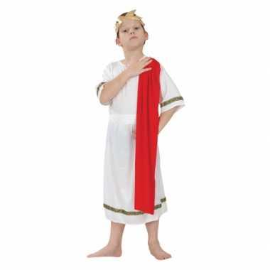 Carnaval  Romeinse pak kinderen kostuum
