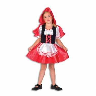 Roodkapje carnavalskostuum kind