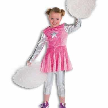 Carnaval  Roze cheerleaders kostuums meisjes