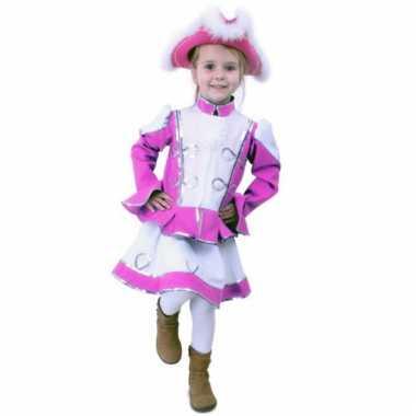 Carnaval  Roze dansmarieke kostuumje meisjes