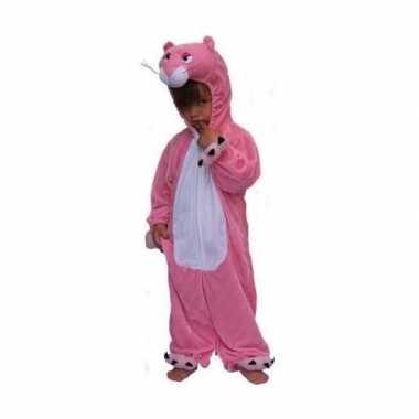 Carnaval  Roze panter kostuum kinderen