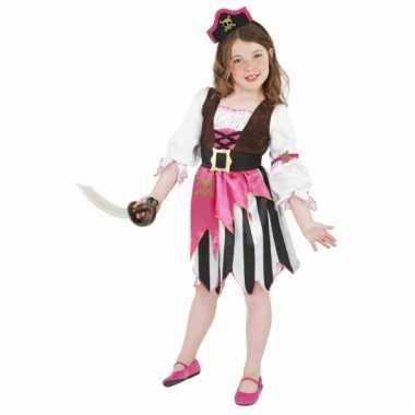 Carnaval  Roze piraten kostuum meisjes