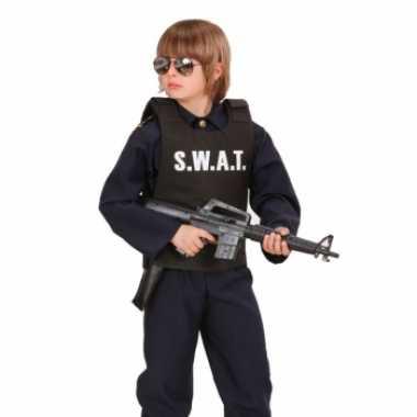 Carnaval  S.W.A.T. kogelvrij vest kinderen kostuum