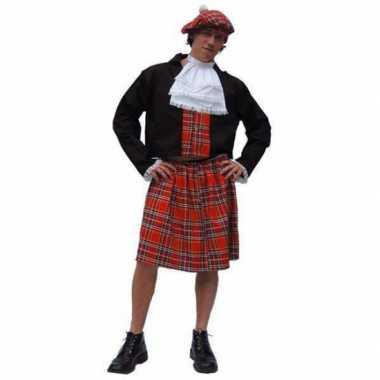 Carnaval  Schotse kilt kostuum