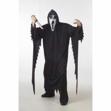 Carnaval  Scream kostuum dames heren