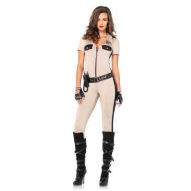 Carnaval  Sexy politie catsuits accessoires kostuum