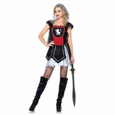 Carnaval  Sexy ridder jurkje dames kostuum