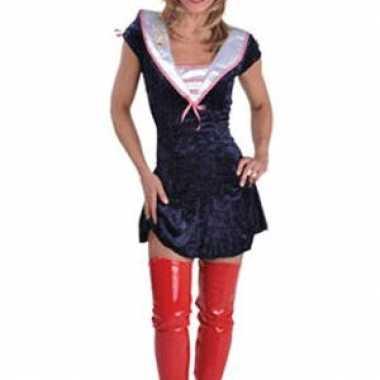 Carnaval  Sexy sailor jurkjes vrouwen kostuum