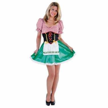 Sexy Tiroler carnavalskostuum dames