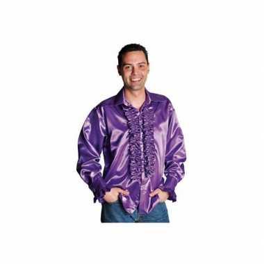 Carnaval  Shirt rouches heren kostuum