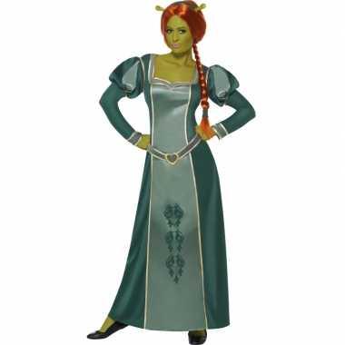 Shrek verkleed kostuum fiona