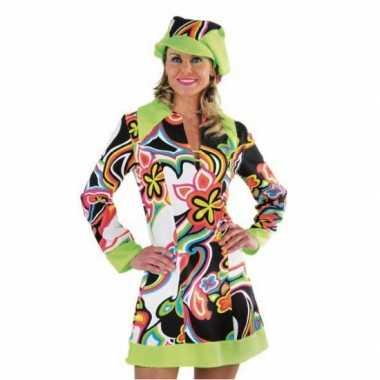 Carnaval  Sixties jurkje dames kostuum
