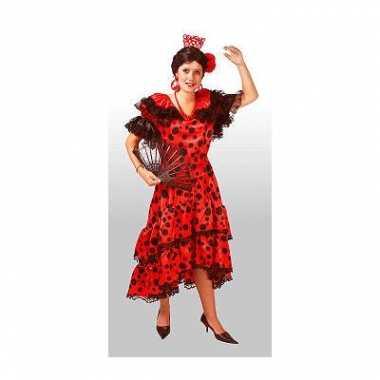 Carnaval  Spaanse dames jurken kostuum