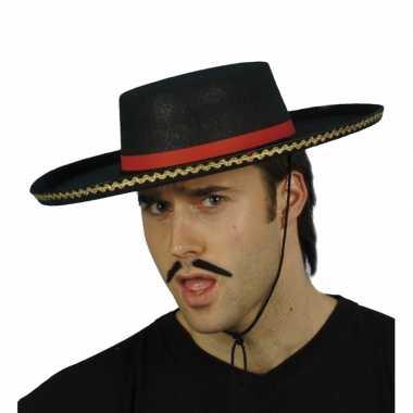 Carnaval  Spaanse hoeden kostuum