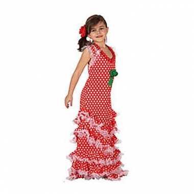 Carnaval  Spaanse jurkjes meiden kostuum