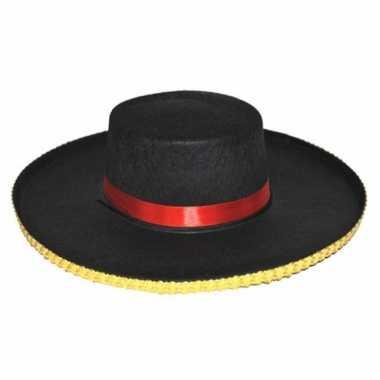 Carnaval spaanse verkleed hoeden antonio heren kostuum