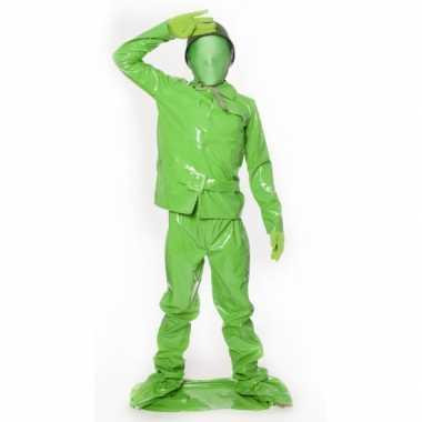 Carnaval  Speelgoed soldaat kids kostuum