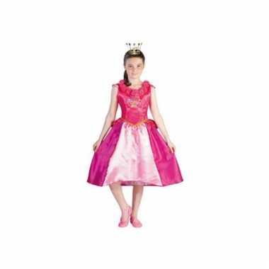 Carnaval  Studio Prinsessia jurk roze kostuum