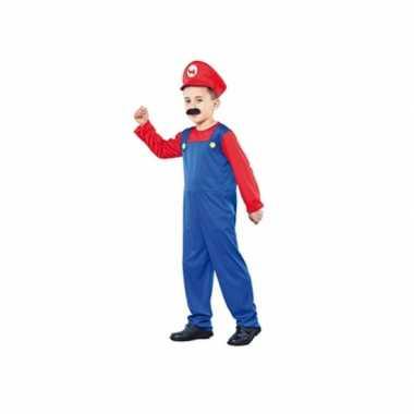 Carnaval  Super Loodgieter kostuum een kind