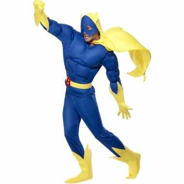 Carnaval  Superheld Banana Man kostuum