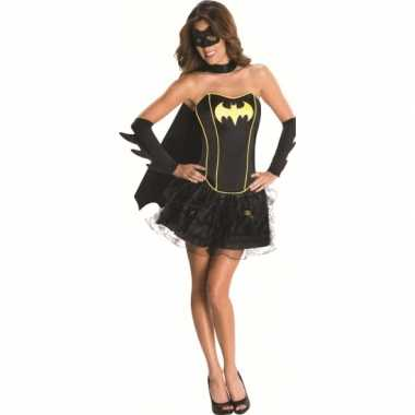 Superheld Batgirl carnavalskostuum