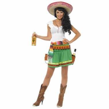 Carnaval  Tequila kostuum dames