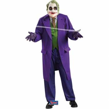 Carnaval  The Joker pak volwassenen kostuum