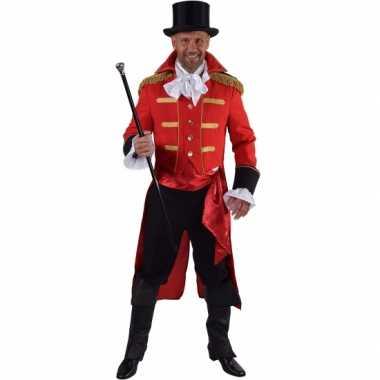 Carnaval  Theater rood markgraaf kostuum