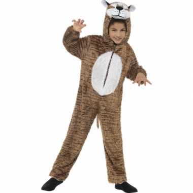 Tijger dieren carnavalskostuum kind