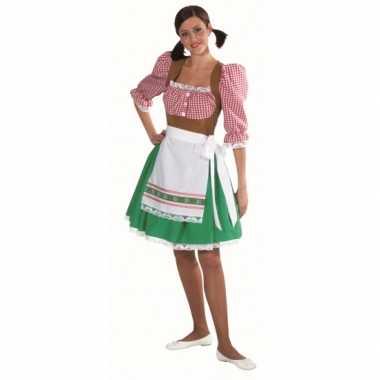 Tirol carnavalskostuum dames