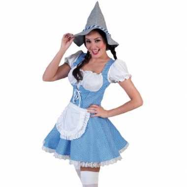 Carnaval  Tiroler jurkje dames kostuum