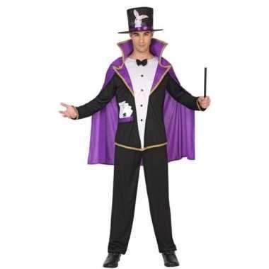 Carnaval tovenaar/goochelaar kostuum volwassenen