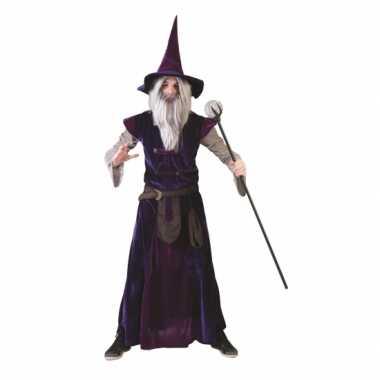 Carnaval  Tovenaars pak volwassenen kostuum