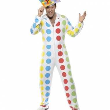 Carnaval twister kostuum mannen