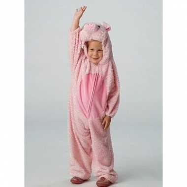 Carnaval varkens kostuumken kinderen