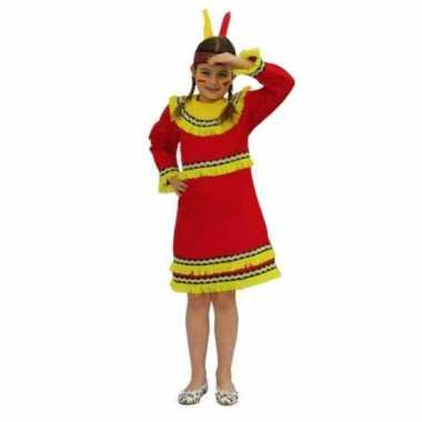 Carnaval  Verkleed indianen jurk meiden kostuum