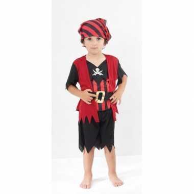 Carnaval  Voor piraten kinder kostuum
