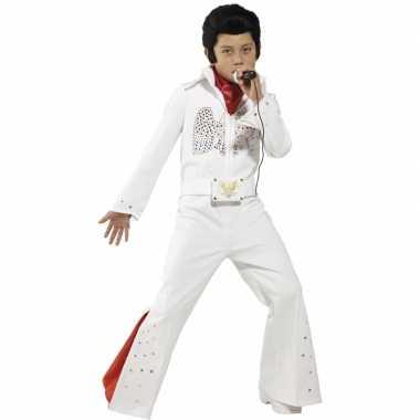 Carnaval  Witte Elvis kostuum kids