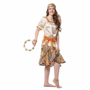 Carnaval  Zigeuner pak dames kostuum